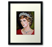 Lady Diana Framed Print