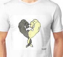 Irish Wolfhound Heart  Unisex T-Shirt