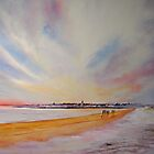 Winter on St Andrews - Scotland by Beatrice Cloake