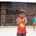 Cambodian Child by Sarah Edgcumbe