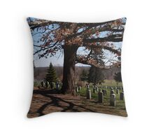 Gettysburg ghosts Throw Pillow
