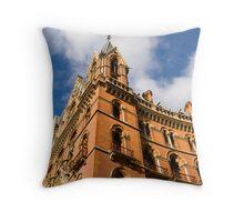 St Pancras , London Throw Pillow