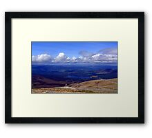 Cairngorm view Framed Print