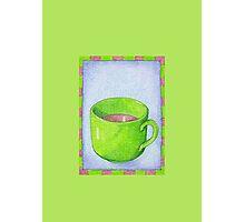 Tea in Green Photographic Print