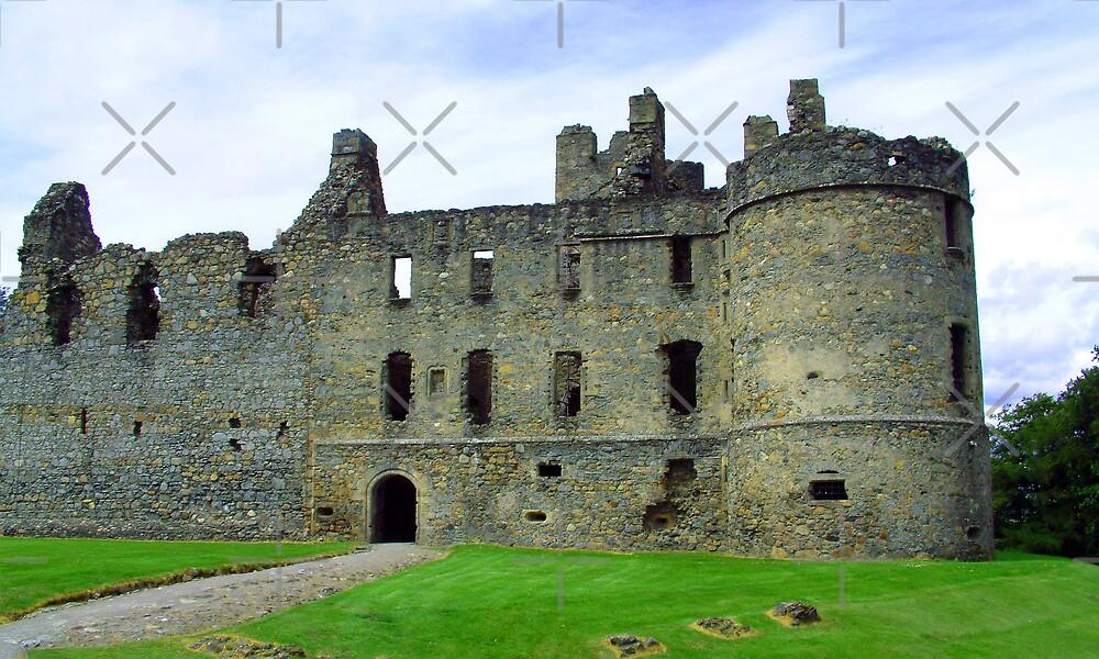 Balvenie Castle by Tom Gomez