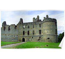Balvenie Castle Poster