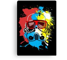 Party Trooper Canvas Print