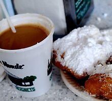 cafe au lait et beignets by alliegator