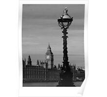 Thames Lamp Poster