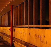 Car Park Wall by daveleephoto