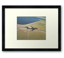 In Plane View Framed Print