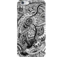 Flower Doodle Pattern iPhone Case/Skin