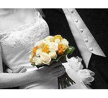 Wedding Bouquet Photographic Print