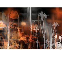Flower Art Photographic Print