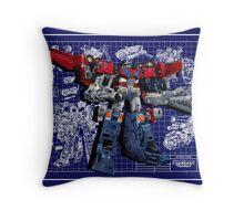 Cybertron Super Optimus Prime Throw Pillow