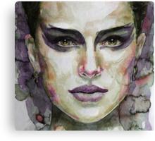 Black Swan - Natalie Portman Canvas Print