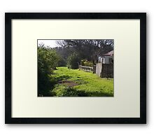 Back Lane Framed Print