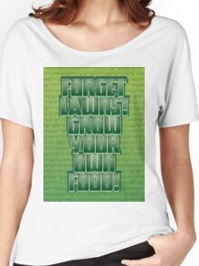 Forget Lawns Women's Relaxed Fit T-Shirt