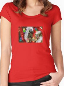 Christmas  Women's Fitted Scoop T-Shirt
