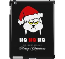 HoHoHo – Bunny, the grumpy X-Mas Temp VRS2 iPad Case/Skin