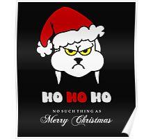 HoHoHo – Bunny, the grumpy X-Mas Temp VRS2 Poster