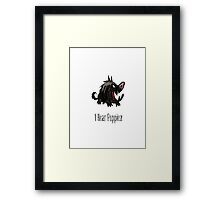 Don't Starve - I Hear Puppies! (Wolfgang) Framed Print