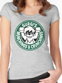 Gurgi's Munchings & Crunchings Women's Fitted Scoop T-Shirt