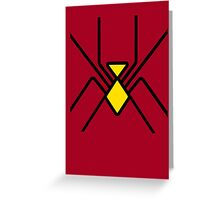 Spider-Woman Greeting Card