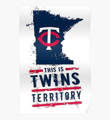 Twins Territory Poster Poster
