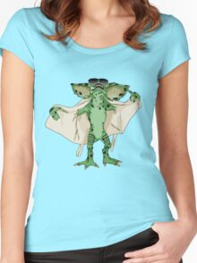 Gremlin Flasher Women's Fitted Scoop T-Shirt