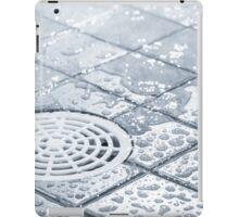 Water consumption iPad Case/Skin