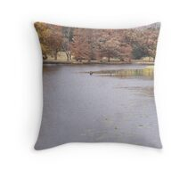 Breathing In God's Beauty Throw Pillow