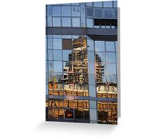 Imperfect Reflection Greeting Card