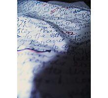 WORDS Photographic Print