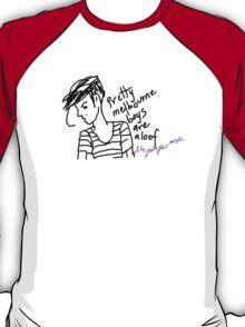 'Pretty Melbourne Boys are Aloof' T-Shirt