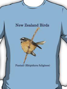 Fantail T-Shirt - New Zealand Bird Series T-Shirt