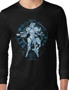 PROJECT M - Blue Print Edition Long Sleeve T-Shirt