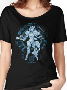 PROJECT M - Blue Print Edition Women's Relaxed Fit T-Shirt