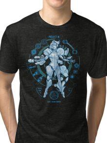 PROJECT M - Blue Print Edition Tri-blend T-Shirt