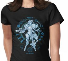 PROJECT M - Blue Print Edition Womens Fitted T-Shirt