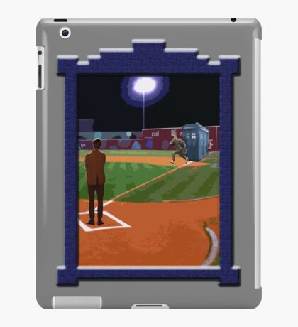 Dr. Who's on First Base iPad Case/Skin