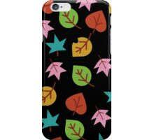 Colorful Leafs  iPhone Case/Skin