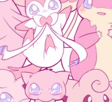 Cute pink Pokemon Sticker
