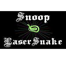 Snoop Laser Snake Photographic Print