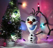 Christmas Olaf Frozen by garykaz