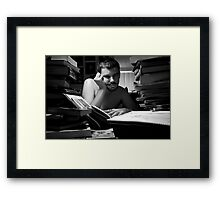 Human - Thoughts - Knowledge Framed Print