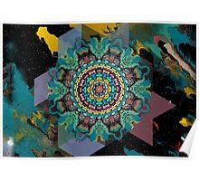 Cubic Nebula Poster