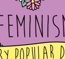 Feminism Flower: Back by Popular Demand Sticker