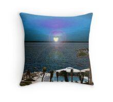 Soulmate Beach Throw Pillow