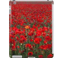 Field of Poppies iPad Case/Skin